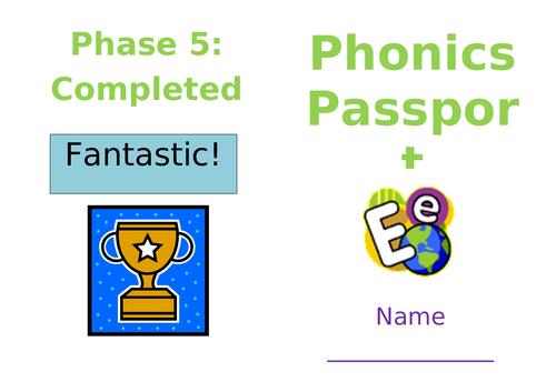 Phonics Passport - Phase 2-5 assessment booklet