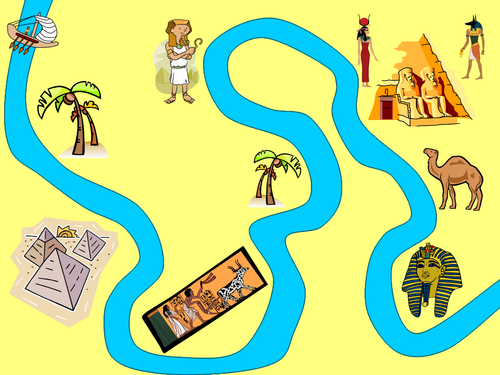 Journey Down The Nile - ppt