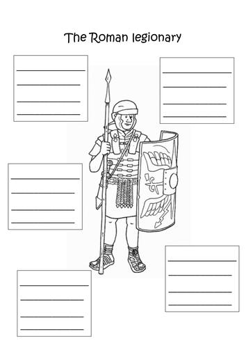 Roman legionary shared text and activity by Leumas