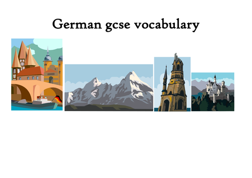 german vocabulary lists by topic pdf