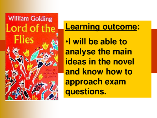 Lord of the Flies by William Golding   KS  Prose   Key Stage