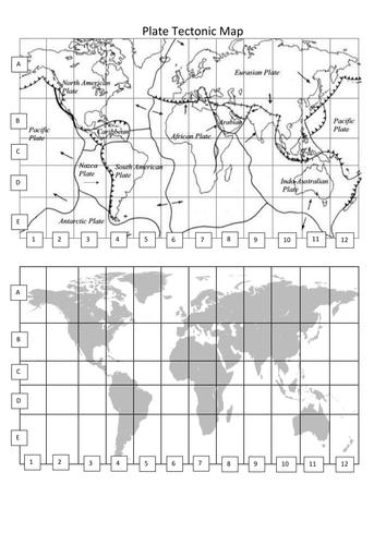 Volcano And Plate Tectonic Battleships By Michaelawelsh Teaching