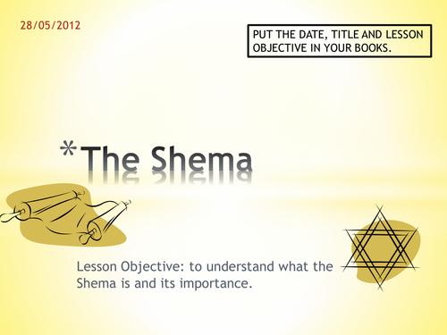 KS3 - Judaism - The Shema