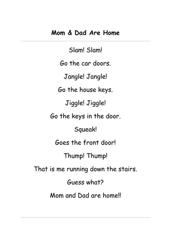 sound poems by schooluser teaching resources. Black Bedroom Furniture Sets. Home Design Ideas
