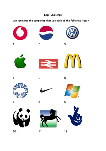 Guess the logo by hattie34 - Teaching Resources - Tes