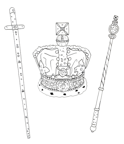 Jubilee - Colouring Pages