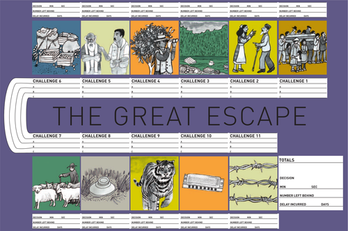 The Great Escape: Game
