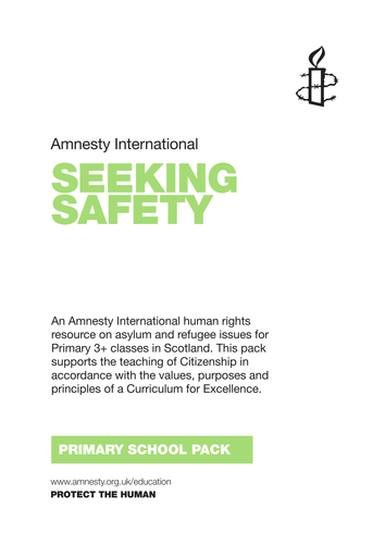Seeking Safety: Primary Activity Pack