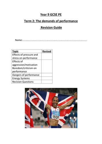 My Revision Notes Aqa Gcse Pe PDF EPUB Download – Cause of ...