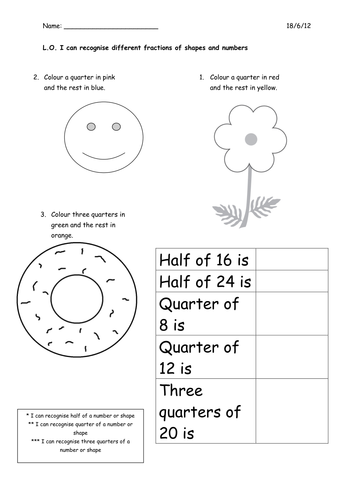 Free Basic Fraction Worksheets Halves And Quarters Math Visual together with  moreover Identifying Fractions   EnchantedLearning also Know Your Fractions  Halves or Quarters  Worksheet   Elace additionally Adding Halves  Quarters  Eighths likewise  moreover  as well Fraction   FREE Printable Worksheets – Worksheetfun together with Counting in Fractions Differentiated Worksheets   halves  quarters further Year 2 Read and Color a Fraction Worksheet   Worksheet   fractions in addition Shape Fractions  Halves   Worksheet   Education besides Identifying Fractions Worksheets Identify Printable Halves And in addition Fraction   FREE Printable Worksheets – Worksheetfun together with Fractions   working with  half or 1 2  quarter or 1 4 and Whole or moreover Fractions for Year 1 by CorrineP   Teaching Resources besides Fun activity on fractions  Half  1 2  worksheets for children. on fractions worksheets halves and quarters