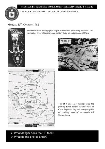 Cuban Missile Crisis   Teaching Resources