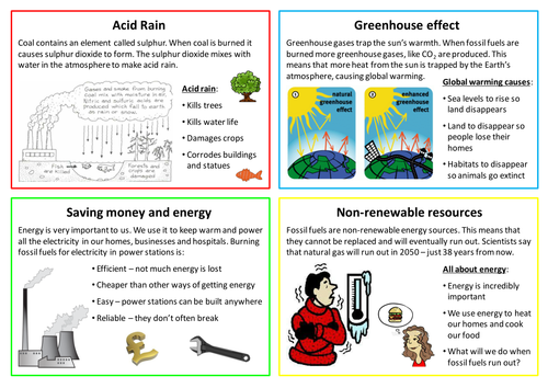 Impact of burning fossil fuels factsheet by neanderthalchick – Fossil Fuels Worksheet
