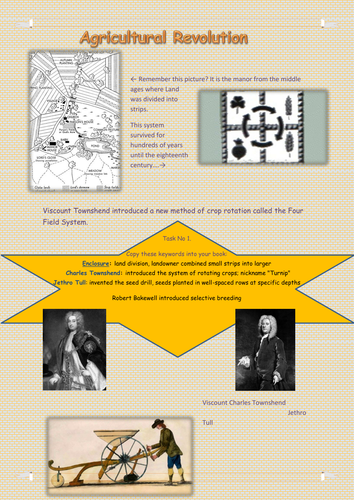 Agricultural Revolution By Tantrumcoxzoe Teaching Resources Tes