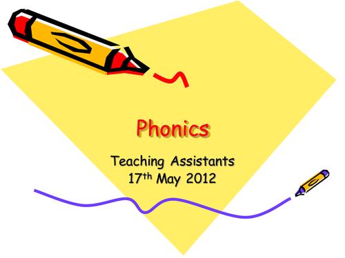 Phonics Staff Training Part 1