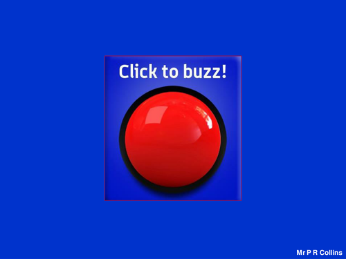 IWB Buzzer. Games aid. Game tool. PowerPoint.