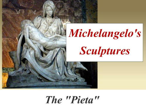Michelangelo's Sculpture
