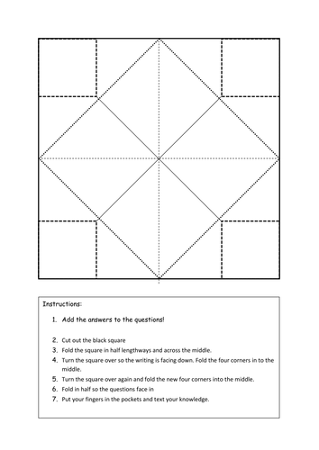 chatterbox template by teaching resources tes