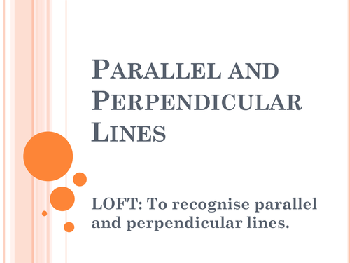 Parallel and Perpendicular lines Year 5 by – Parallel and Perpendicular Lines Worksheet