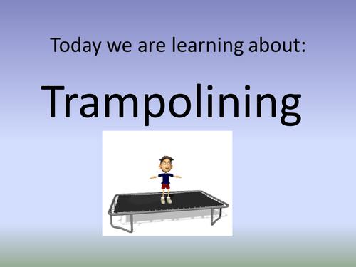 Trampolining powerpoint