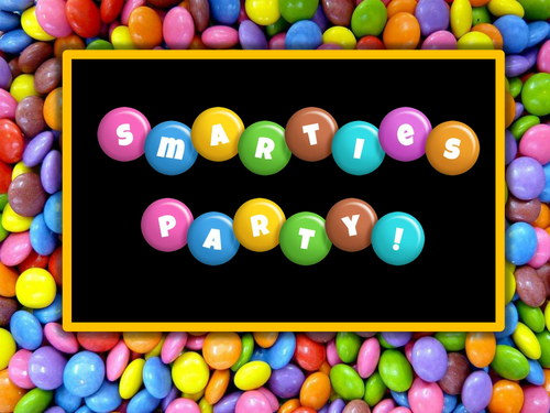 Smarties Maths Lesson -  Revision
