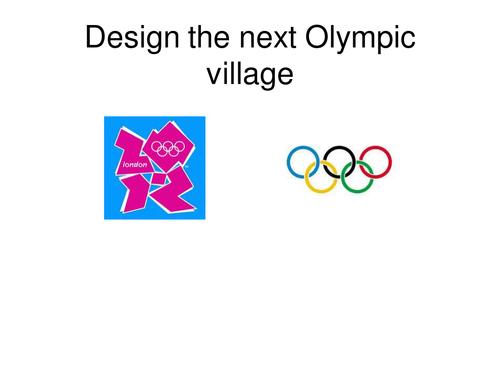 Design the next Olympic Village