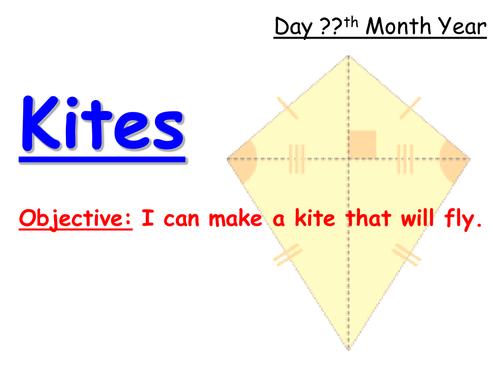 Making a Sled Kite