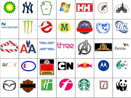 Revered image throughout logo quiz printable