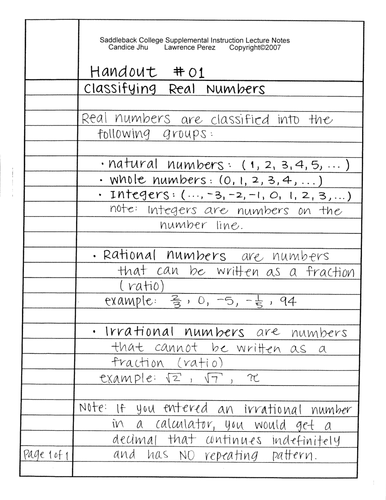 Worksheets Classifying Real Numbers Worksheet classifying real numbers by algebra2go teaching resources tes