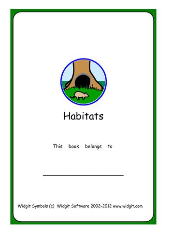 Habitats booklet