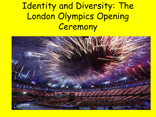 Identity and Diversity and the London Olympics