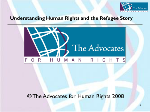 Understanding Human Rights and the Refugee Story