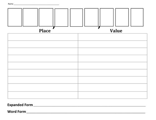 Free Worksheets : place value ks1 worksheets Place Value Ks1 or ...