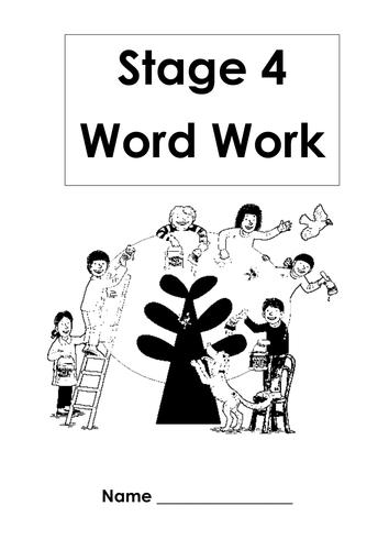 ORT Stage 1 - Stage 5 Word Workbooks