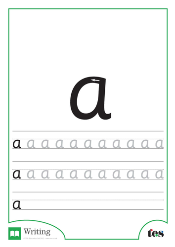 letter formation a z by tes_abc teaching resources tes
