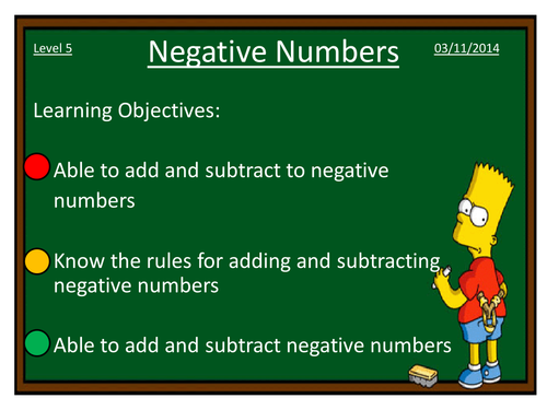Adding and subtracting negative numbers by dannytheref Teaching – Rules for Adding and Subtracting Integers Worksheet
