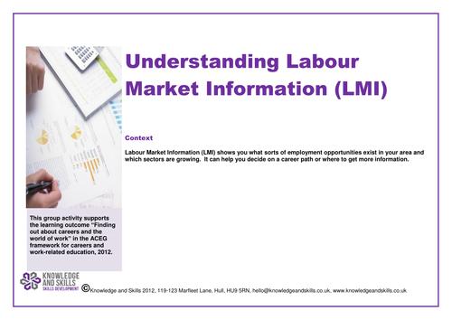 Understanding Labour Market Information (LMI)