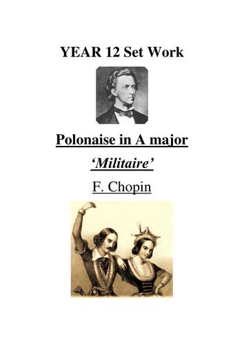 Polonaise Militaire: Chopin