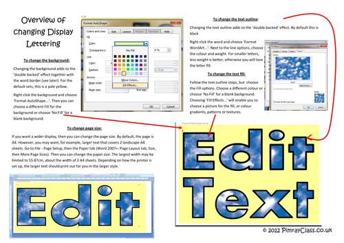 Display Lettering - 161 editable variations