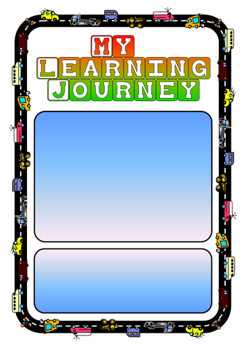 Learning Journey cover sheet