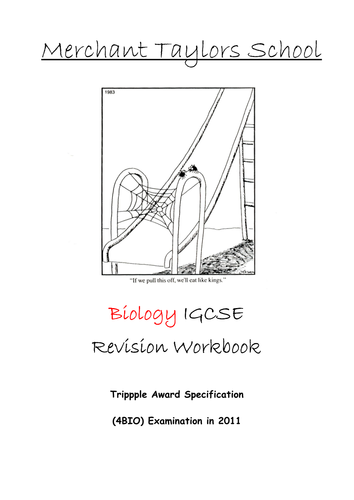 Edexcel IGCSE Triple Biology Revision Notes