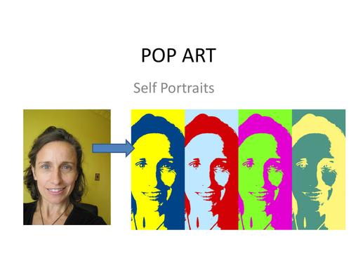 How to make simple POP ART Portrait