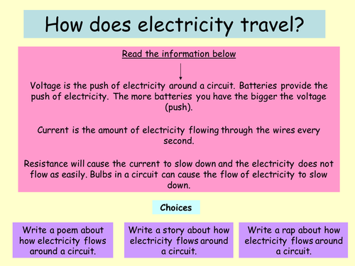Edexcel entry level certificate - electricity