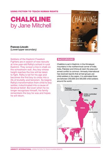 Chalkline by Jane Mitchell