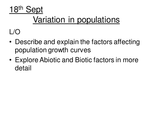 Abiotic and Biotic factors and interintraspecific by vvickery – Abiotic and Biotic Factors Worksheet