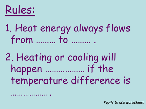 Heat Transfer (Conduction, Convection, Radiation) Worksheets (Inc ...