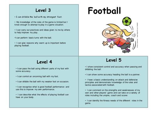 Football Level Descriptors
