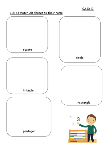 Venn Diagram Lesson Using Shapes Differentiated By Rmcmanus1294