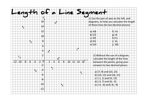 Calculating The Length of a Line Segment