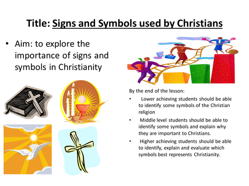 Christian Symbols By Godonkor Teaching Resources Tes