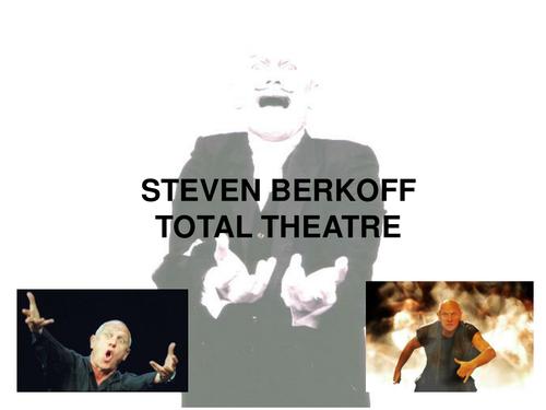 Steven Berkoff PowerPoint